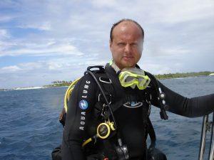 Андрей Лихачев, дайвинг - Мальдивы