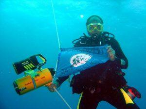 Андрей Лихачев, дайвинг в точке экватора - Мальдивы