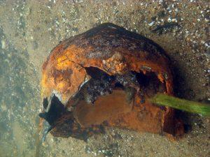 подводная археология Беларусь, доспех ВКЛ