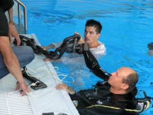 подводные съемки клипа, Лихачев Андрей